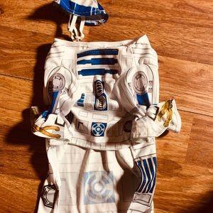 Star Wars R2D2 doggie 🐶 costume